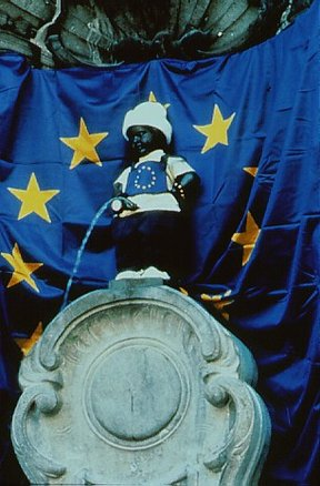 Picture - Manneken Pis Statue in Brussels.