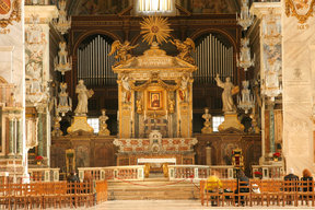 Picture - Interior of Santa Maria in Aracoeli located in Rome.
