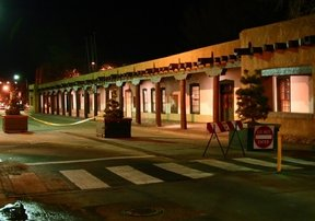 Picture - Palace of Governors in Santa Fe.