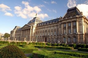 Picture - The Royal Palace in Brussels.
