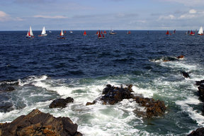 Picture - Old Boat Festival at Portsoy.