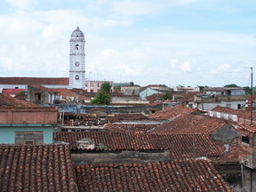 Picture - Tower on the skyline of Sancti Espiritus.