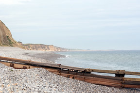 Picture - The beach at Sheringham.