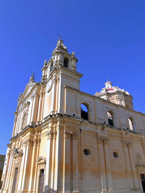 Picture - St Paul's Cathedral in Mdina.