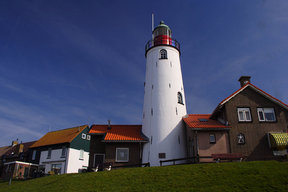 Picture - A lighthouse in Urk.
