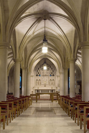 Picture - National Cathedral chapel in Washington.