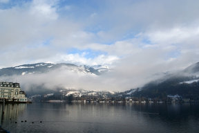 Picture - Beautiful waterfront of Zell Am See.