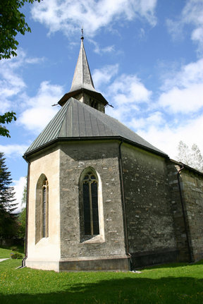 Picture - Stone church in Zillis.