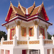 A Buddhist Temple in Rayong province.