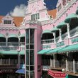 A shopping center in Oranjestad.