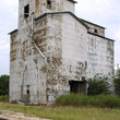 Abandoned grain tower in Illinois.