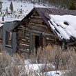 Abandoned house in a Montana ghost town.