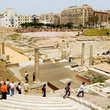 Roman theater in Alexandria.