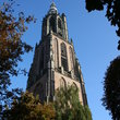 A church tower in Amersfoort.