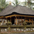 Hindu Temple at Holy Spring Temple on Bali.