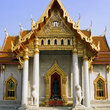 The Wat Benjamabopith in Bangkok.