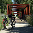 Bicycle Trail in Wisconsin.