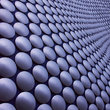 Detail of the Selfridges building in Birmingham.