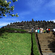 Borobudur in Java, is made up of multiple levels.