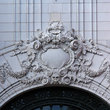 Details on the Old Opera House in Boston, Massachusetts.