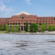 Suffolk County Jail on the Charles River, Boston.