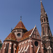 Calvinist church in Budapest.