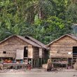 Buildings in a village on Surin Island.