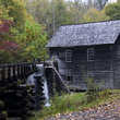 Cabin and Grist Mill in Fennessee Forest.