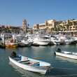 Marina at Cabos San Lucas.