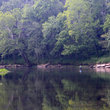 Caney Fork River on the Cumberland Plateau, Tennessee.