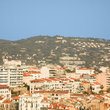 View over a residential area of Cannes.