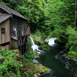 Cedar Creek and Grist Mill in Southwest Washington.