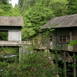 Cedar Creek Grist Mill in Southwest Washington.