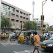 City street in Chennai.