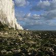 Cliffs at Birling Gap in Sussex.