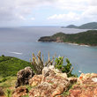 Coastline of Antigua.