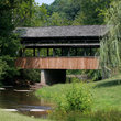 Covered bridge in Red Boiling Springs, Tennessee.