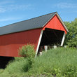 Covered Bridge in Southern Vermont.