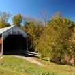 Covered Bridge to Grange City, Kentucky.