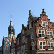 Historic houses in Delft.
