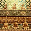 Detail of the Kings Palace in Bangkok.