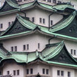 Detail of the Nagoya Castle in Nagoya.
