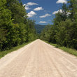 Dirt road in rural Vermont.