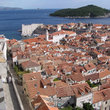 Looking out over Dubrovnik.