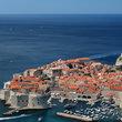 Aerial view of Dubrovnik.