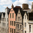 Unique gables of Edinburgh.