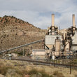 Electric power plant in a Canyon in Southern Utah.