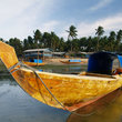 Fishing boat at Batam Island.