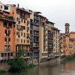 View of Florence from the river.