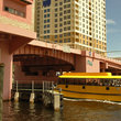 A water taxi shuttles residents and visitors along New River in Los Alos and Ft. Lauderdale.